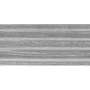 Керамическая плитка Inter Cerama MAGIA для стен рельефная 23x50 см серый темный