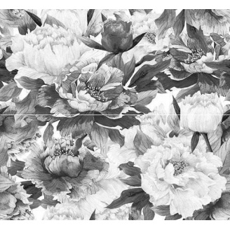 Декор-панно Inter Cerama METALICO 46x50 см сірий
