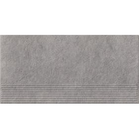 Плитка Opoczno Dry River grey steptread 29,55x59,4 см