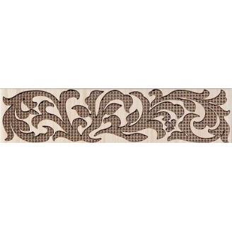 Бордюр Inter Cerama VENGE 6,5x23 см коричневый