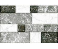 Керамическая плитка Inter Cerama GRANI для стен 23x35 см серый светлый