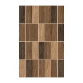 Плитка керамічна Golden Tile Karelia Mosaic для стін 250х400 мм коричневий (І57161)
