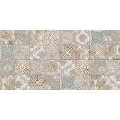 Плитка керамическая BELANI Декор Рамина 50х25 см серый