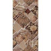 Плитка керамическая BELANI Декор Симфония 25х50 см коричневый