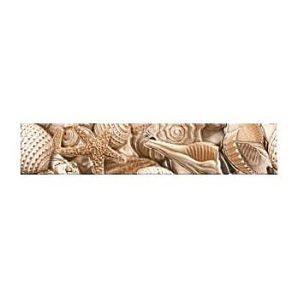 Фриз Golden Tile Sea Breeze Shells 300х60 мм бежевый (Е11441)