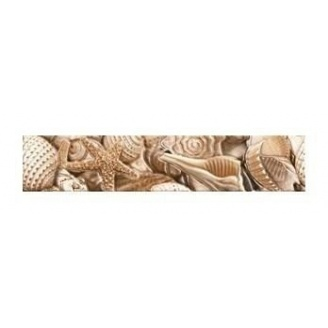 Фриз Golden Tile Sea Breeze Shells 300х60 мм бежевый (Е11441)