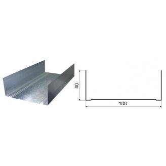 Профиль UW100 для гипсокартонных систем 0,4 мм