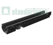 Лоток водоотводной пластиковый PolyMax Basic ЛВ-10.16.12-ПП (8020)