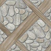 Керамогранит BELANI Аризона R 418х418 мм серый