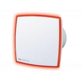 Вентилятор Vents 100 ЛД Лайт красный