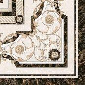 Декор Inter Cerama FENIX 43x43 см бежевый (ДН 93 021-1)