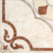 Керамическая плитка Inter Cerama CASTELLO для пола 43x43 см красно-коричневый