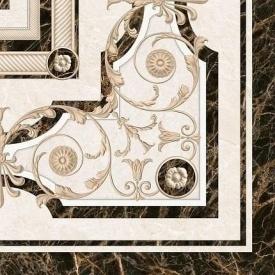 Декор Inter Cerama FENIX 43x43 см бежевий (ДН 93 021-1)