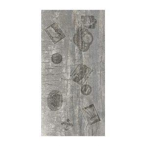 Керамическая плитка Golden Tile Castello декоративная ректификат 300х600 мм серый (У42990)