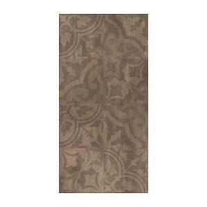 Керамическая плитка Golden Tile Kendal Ornament 300х600 мм коричневый (У17940)