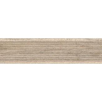 Керамическая плитка Inter Cerama LAMINA для пола 15x60 см коричневый светлый