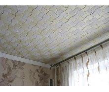 Облицовка потолка пенопластовыми плитами