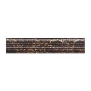 Фриз Golden Tile Lorenzo Modern 300х60 мм коричневый (Н47311)