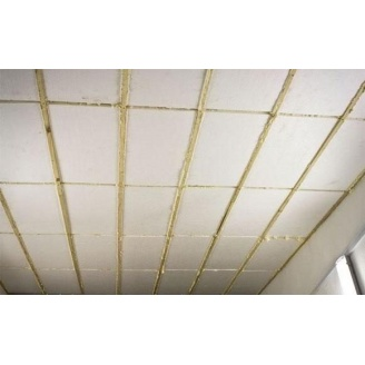Теплоізоляція стель плитами з екструдованого полістиролу на клей