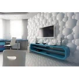 Облицовка стен 3D-панелями