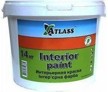 Крска водоэмульсионная Atlass Interior Paint 14 кг