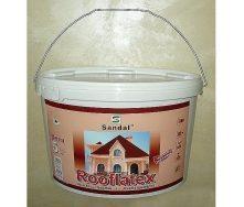 Фарба для шиферу SANDAL Rooflatex 5 кг червоно-коричнева