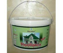Краска для шифера SANDAL Rooflatex 5 кг зеленая