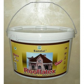 Краска для шифера SANDAL Rooflatex 5 кг коричневая