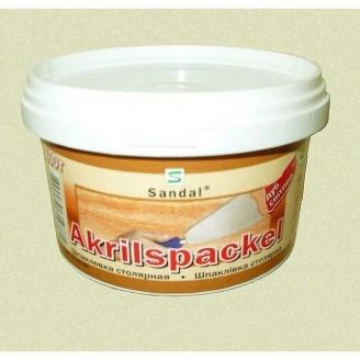 Шпаклівка столярна акрилова SANDAL Akrilspackel 0,4 кг дуб світлий