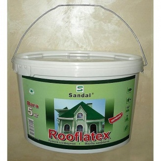 Фарба для шиферу SANDAL Rooflatex 5 кг зелена