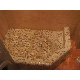 Демонтаж залізобетонного підлоги під душовою кабіною