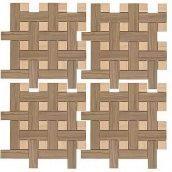 Мозаїка Zeus Ceramica Керамограніт Casa Zeus MarmoAcero 30х30 см Velluto (mmcxma63)