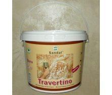 Шпаклівка декоративна Sandal Travertino 5 кг