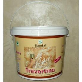 Шпаклевка декоративная Sandal Travertino 5 кг