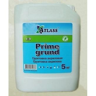 Грунтовка глубокого проникновения Atlass Prime Grund 5 кг