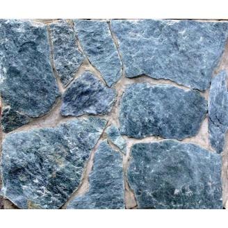 Сланець для облицювання фасаду темний малахіт