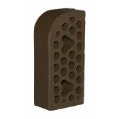 Лицевой фасонный кирпич СБК ВФ-8 1NF 250х120х65 мм какао