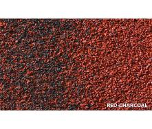 Композитная черепица Metrotile MetroRoman Redcharcoal 1280х410 мм