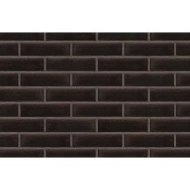 Клінкерна плитка King Klinker 17 Onyx black 65х250х10 мм чорний онікс
