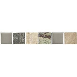 Декор Opoczno Avenue green border stone 48х297 мм