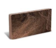 Фасадная плитка Литос Цокольная 250x18x100 мм шоколад