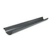 Желоб Акведук Премиум 125 мм 2 м графитовый RAL 7011