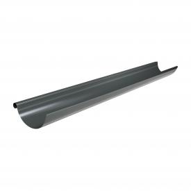 Жолоб Акведук Преміум 125 мм 2 м графітовий RAL 7011