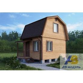 Строительство дачного дома с крыльцом под ключ