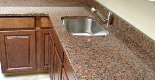 Кухонна стільниця з натурального грнаніту