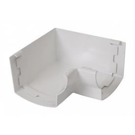 Кут ринви 90° внутрішній Nicoll 28 OVATION 125 мм белий