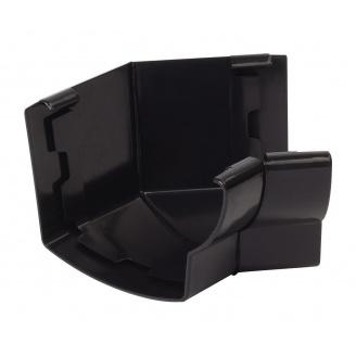 Угол желоба 135° внутренний Nicoll 28 OVATION 125 мм черный