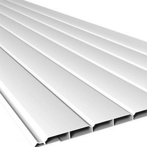 Стельова панель Nicoll BELRIV 30 см 4 м білий
