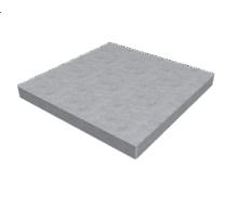 Плита тротуарная железобетонная 6к-5 0,5х0,5 м