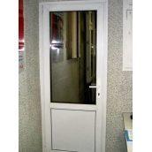 Двери металлопластиковые балконные Whs60 2100х700 мм белые